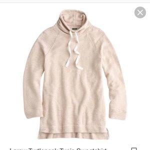 J. Crew Turtleneck Tunic Sweatshirt *NWT*